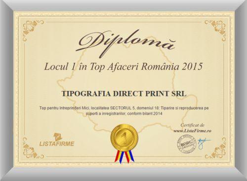 diploma tipografia direct print